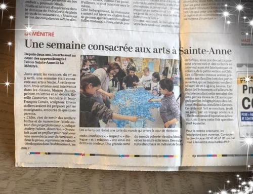 Semaine des Arts, École Sainte-Anne